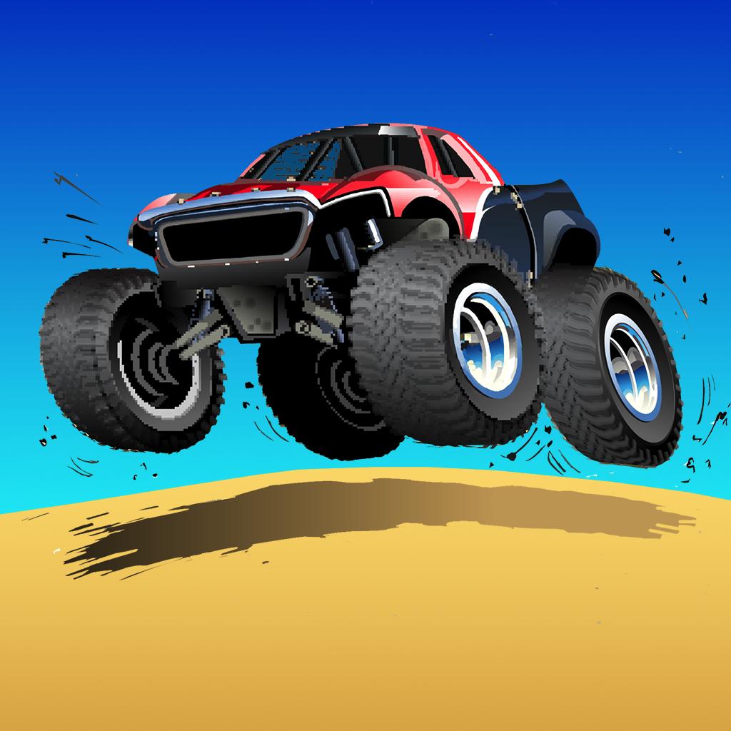 Dakar Offroad Rally Legend - Speedy Vehicle Desert Race
